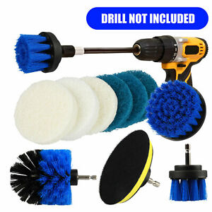 Drill Brush Power Brush Scrubber Cleaning Kit Attachments All Purpose Deep Clean