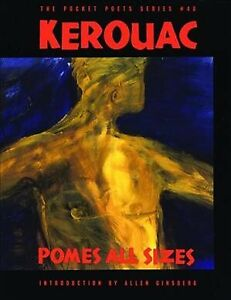 Pomes-All-Sizes-Paperback-by-Kerouac-Jack-Brand-New-Free-P-amp-P-in-the-UK