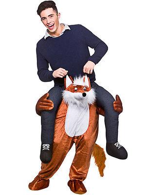 Carry Me Fantastic Mr Fox Hunt Ride On piggy back Mascotte Costume NUOVO