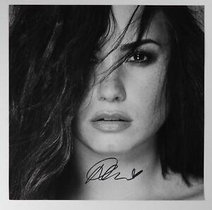 Demi Lovato Jsa Psa Autograph Signed Album Flat Record Tell Me You Love Me Ebay