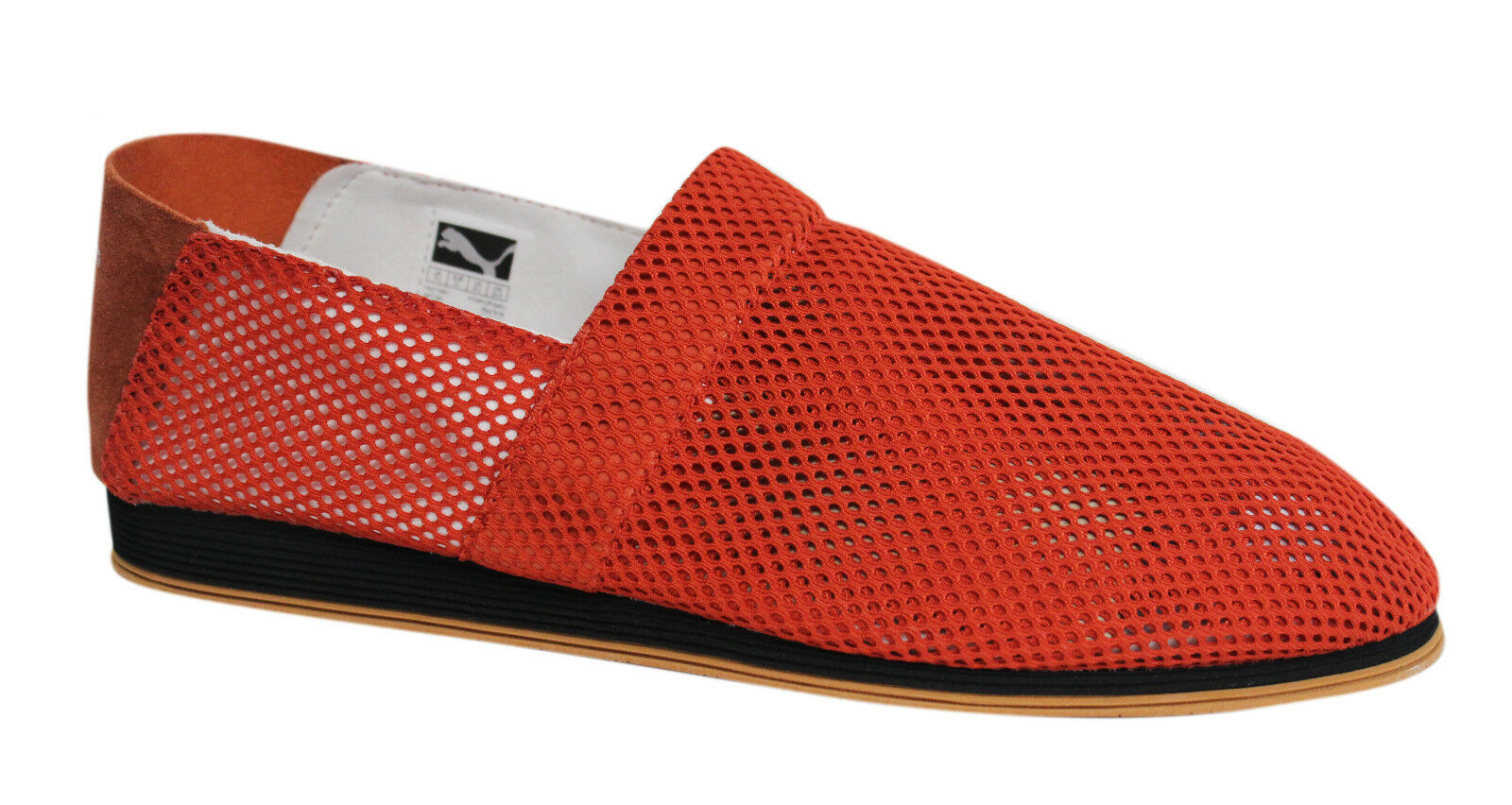 PUMA HUSSEIN CHALAYAN Burnt 354478 Orange Netz Herren Espadrille 354478 Burnt 08 U5 685e98