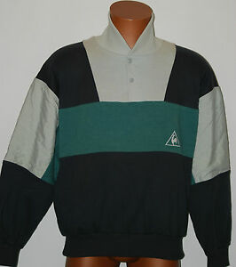 Vintage Sportif capucha Deadstock 80s Le Jacket sudadera Coq con Rare 70s Toptracksuit dB0Fq0a