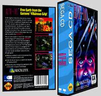 A/x-101 - Sega Cd Reproduction Art Dvd Case No Game