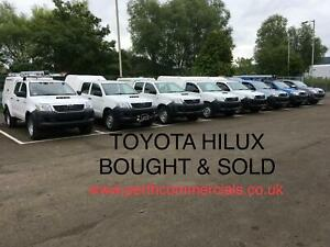 TOYOTA-HILUX-PICKUPS-WANTED-CALL-07732836306
