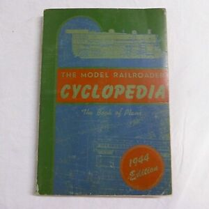 Model-Railroader-Cyclopedia-Book-of-Prototype-Plans-5th-1944-Ed-Railroad-Trains