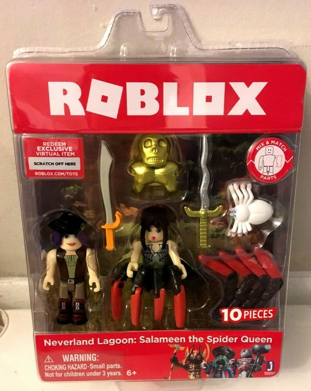 Roblox Neverland Lagoon Salameen The Spider Queen 10 Pcs For Sale