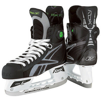 New Rbk 9k pump hockey skates junior size 3.5 D boys jr shoe size 5