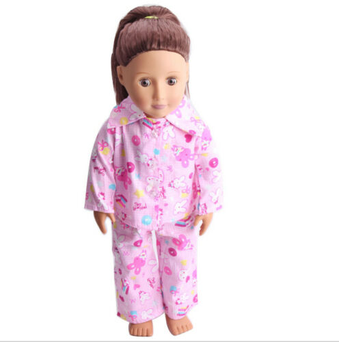 "For 18/"" American Girl Our Generation My Life Dolls Clothes Dress Pajamas"