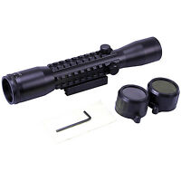 Guntuff 4x32 Riflescope Air Rifle Gun Scope Hunting Shooting 11mm & 20mm Mount