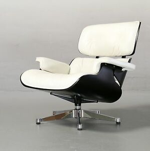 ... Ray Amp Charles Eames Lounge Chair Schwarz Weiss