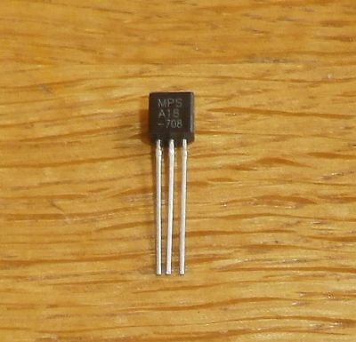 10 Transistoren  MPSA 44 npn , 400 V , 0,3 A , 0,625 W