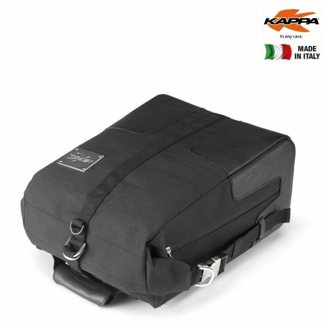 Kappa Tankrucksack CR600 Café Racer 10l Volumen Befestigung mit 4 Magneten schwa