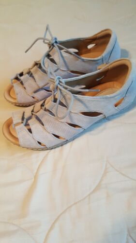 Earth Ghillie Taupe Suede Plover Shoes 7.5M