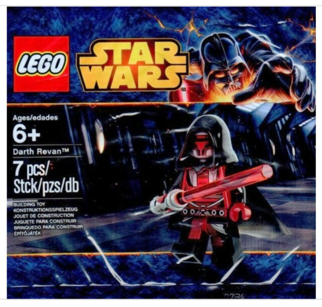 NEW SEALED LEGO STAR WARS DARTH REVAN 5002123 RAVEN MINIFIG MINIFIGURE RARE