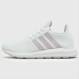 Adidas Swift Run Women S Casual White Ice Purple Grey Authentic New In Box Ebay