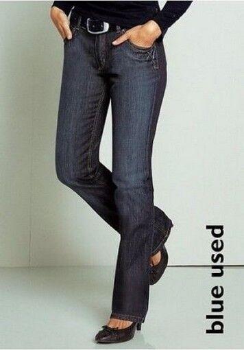 H.I.S H.I.S H.I.S Jeans Julie Tgl 34 L31 Nuovo Donna Dritto Pantaloni Elasticizzato Blu 76cfa7