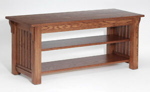 #151 Solid Oak Mission TV Stand