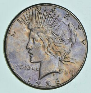 Early-1926-S-Peace-Silver-Dollar-90-US-Coin-148