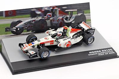 Rubens Barrichello Honda Ra106 #11 Italia Gp Formula 1 2006 1:43 Altaya-mostra Il Titolo Originale