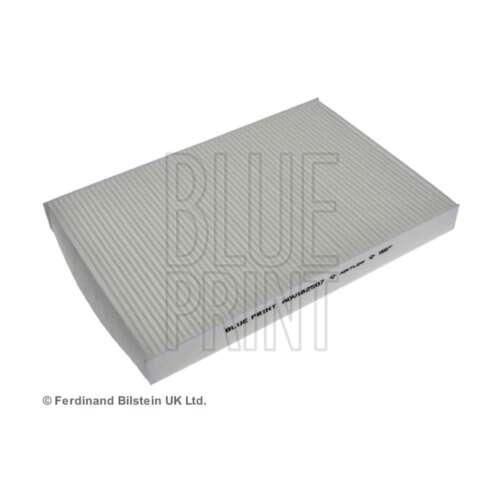 Si adatta AUDI A4 B6 1.8 T Quattro Blu Stampa INTERNA ARIA CABINA filtro antipolline