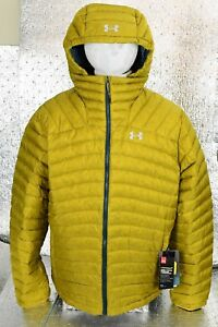 95813100c New Men's Under Armour ColdGear Four Pines Down Ski Snowboard Jacket ...