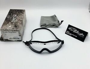 Smith-Optics-Elite-Boogie-Regulator-ASIAN-FIT-Goggles-Clear-Black-Silicone