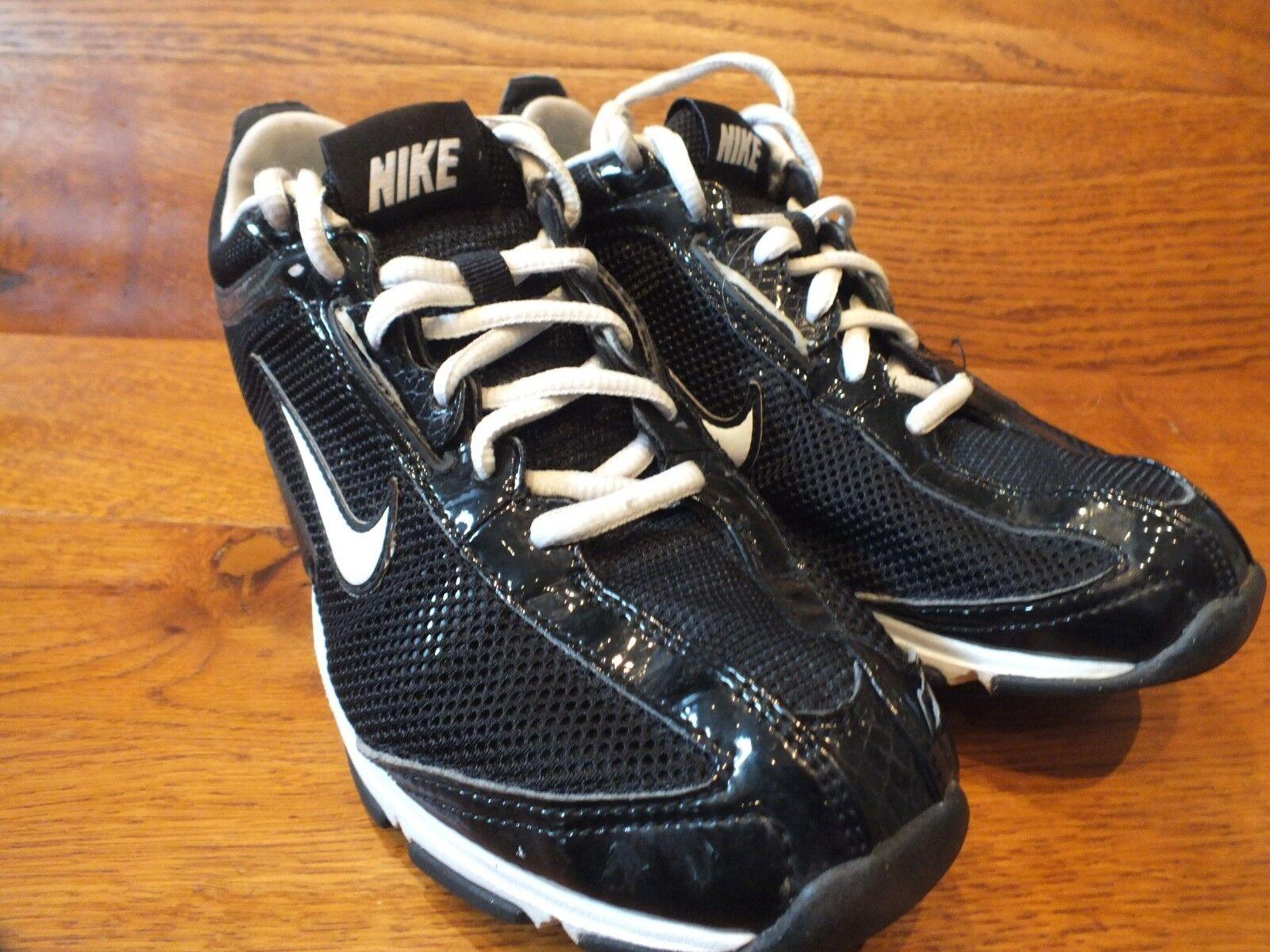 Womens Nike Air Zoom Black Casual Trainers Size UK 6 EU 40