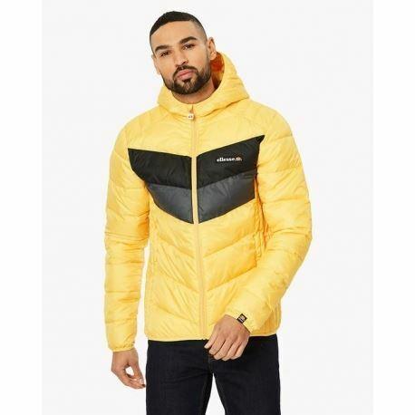 shz02370 Ellesse Mens Ginap Jacket Yellow