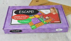 ESCAPE! Language Arts Fun Grades 4-8 Game Creative Teaching Association Complete