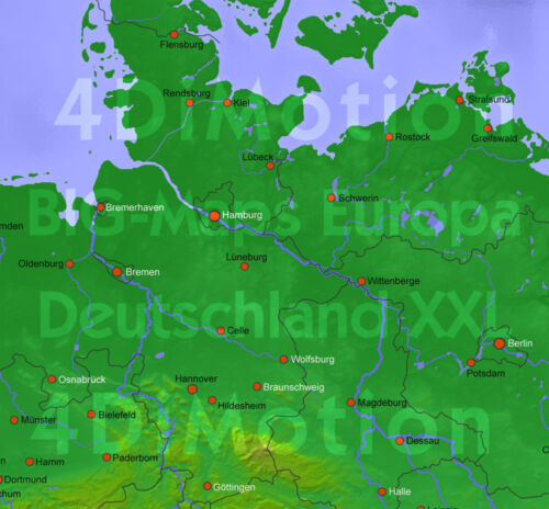 Casablanca software Big-Maps Europa