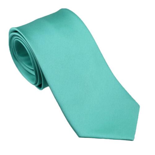 Coachella Ties Aqua Turquoise Green Solid Color Necktie,skinny Tie,bowtie,hanky