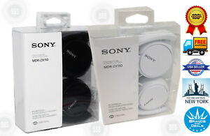 New-Sony-MDR-ZX110-ZX-Series-Headphones-MDRZX110-Wired-Over-Ear-Black-White