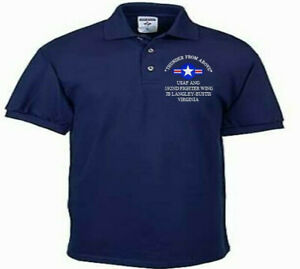 192ND-FIGHTER-WING-JB-LANGLEY-VA-USAF-ANG-EMBROIDERED-LIGHTWEIGHT-POLO-SHIRT