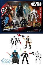 NEW Star Wars HERO MASHERS Return of the Jedi 5 MASHABLE FIGURES Darth TROOPERS