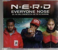 (AG154) N*E*R*D, Everyone Nose (All The Girls...- DJ CD