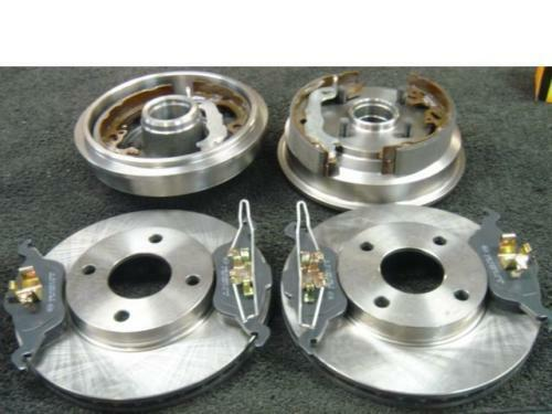 FORD FOCUS REAR BRAKE DRUMS /&SHOES FRONT DISCS /& PADS /&