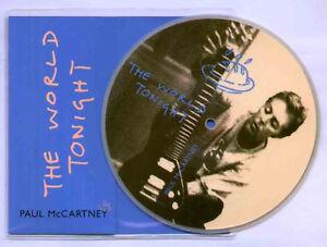 Paul-McCartney-The-world-tonight-NEW-MINT-UK-PICTURE-DISC-7-inch-vinyl-single