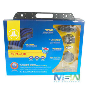 new jl audio xd pcs2 2b 2 awg gauge dual car amplifier amp wire rh ebay com