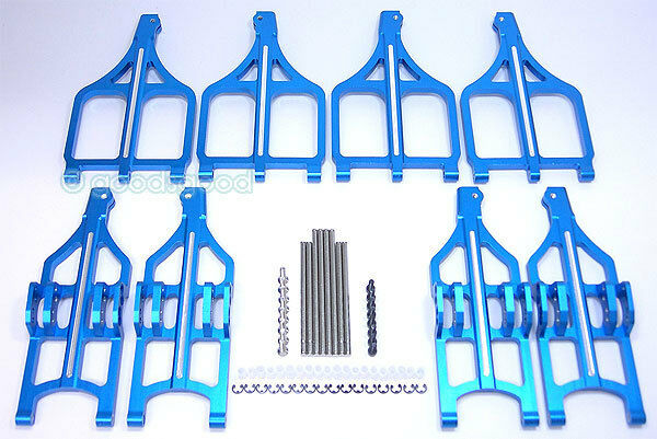 Aluminum Uppper & Lower Suspension Suspension Suspension Arm For Traxxas Wide E T-maxx 2.1&2.5   3.3 b362da