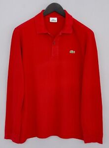 Men-Lacoste-Rugby-Shirt-Devanlay-Polo-Neck-Long-Sleeves-Cotton-5-L-XLM709