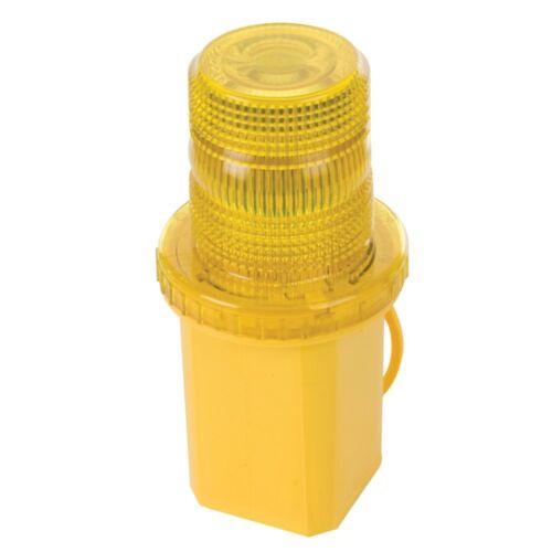 6V Flashing Warning Light  Ultra-Bright Bulb Light Torch Lamp with Orange Lens