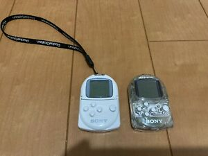 Sony-PocketStation-PlayStation-PS-Crystal-amp-White-SCPH-4000-Japan-P43
