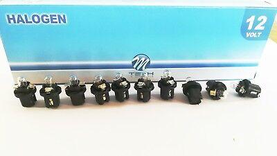 BAX BX8.4d PHILIPS 2W 12V Grün//Green 10 Stück Instrumentenbeleuchtung 12626CP