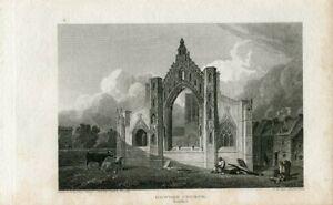 Yorkshire-Howden-Church-Engraving-By-Barenger-dibujo-J-P-Neale