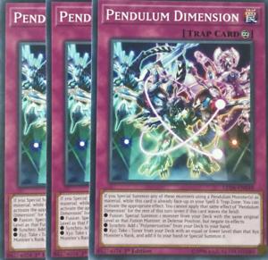 Magical 3X Pendulum Dimension LED6-EN049 Common Yugioh Legendary Duelists