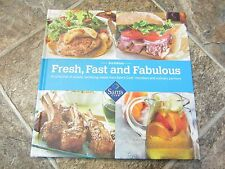 2013 HC Fresh, Fast & Fabulous 3rd Ed Cookbook, Sam's Club, Very Nice