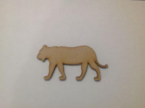 formas de artesanía de madera x 10. Leones