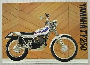 YAMAHA-TY250-MOTORCYCLE-Sales-Specification-Leaflet-1978-LIT-3MC-0107157-78E