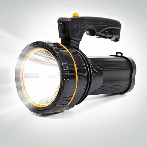 Maythank Super Lumineux Puissant DEL Torche Lumière Rechargeable Lampe De Poche Big 4