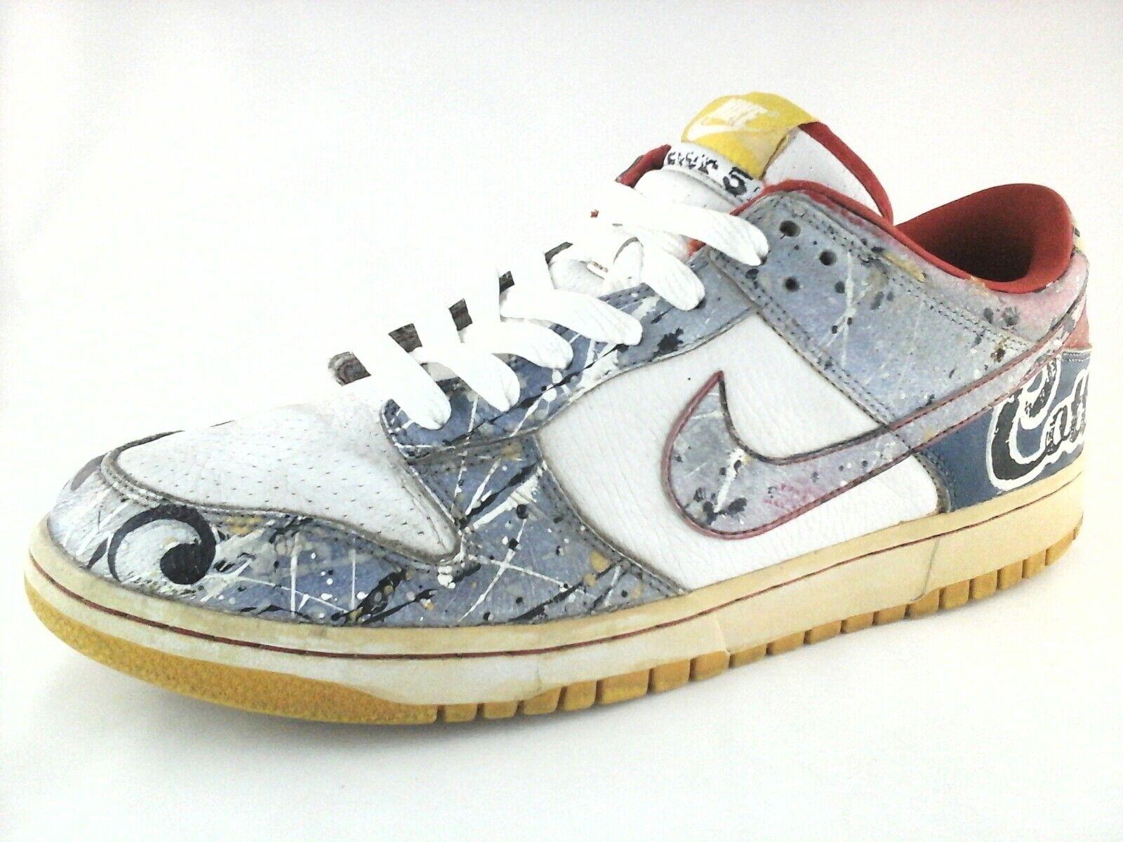 NIKE chaussures Custom Cottonwood Church Bible Verse homme Sneakers US 12 EU 45 RARE